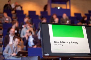 The first meeting in the Danish Battery Society
