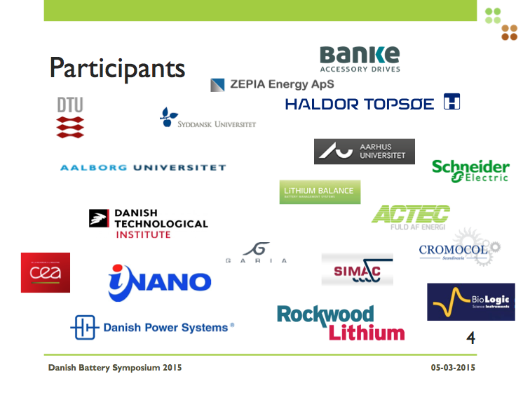 2015 DBS participants